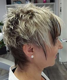Kurzschnitt Frisuren | Damen Kurzhaarschnitt Coiffeur Asante